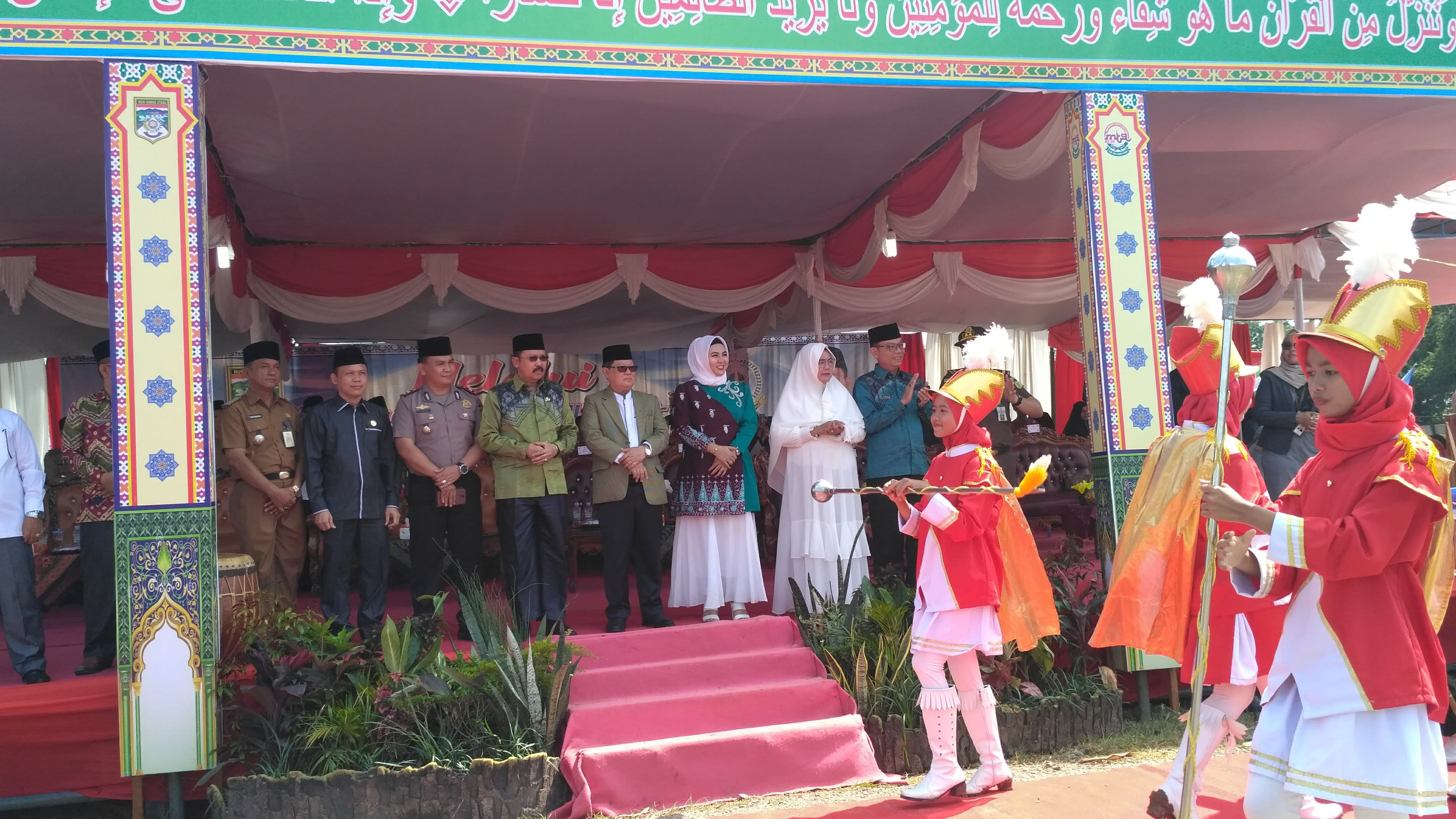 Bupati Syarif Hidayat Buka MTQ ke-VI Muratara