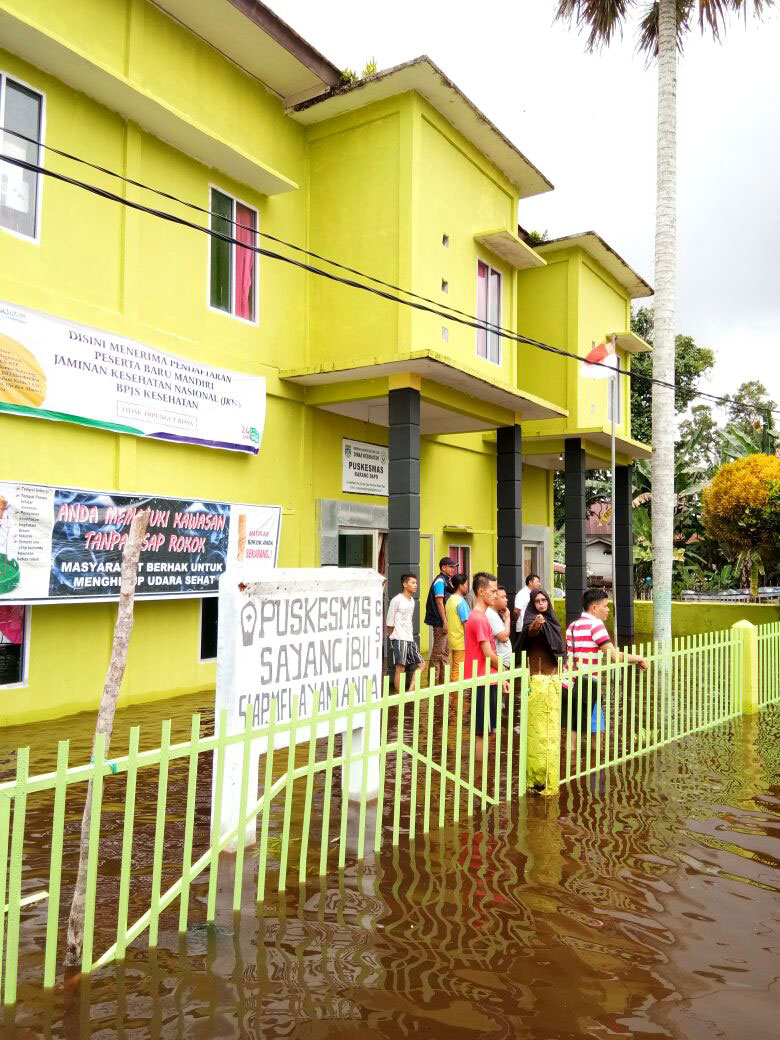 BPBD Catat 9175 KK Korban Banjir