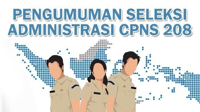 Pengumuman hasil seleksi administrasi CPNS Kabupaten Musi Rawas Utara